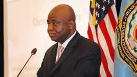Liberian defense minister Brownie Samukai