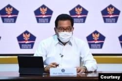 Jubir Satgas Penanganan COVID-19 Prof Wiku Adismito dalam telekonferensi pers di Istana Kepresidenan , Jakarta, Selasa (24/11) mengatakan libur akhir tahun berpotensi tingkatkan kasus covid hingga tiga kali lipat (Biro Setpres)