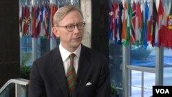 برایان هوک، نماینده ویژه وزارت خارجه آمریکا - عکس آرشیو