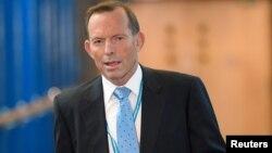 资料照:澳大利亚前总理阿博特