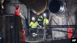 Tim pemulihan memasuki tambang batu bara di Selandia Baru untuk pertama kalinya sejak tahun 2010, Selasa (21/5).