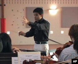 Matt Martz started the orchestra so that he and other students would have more opportunities to perform.