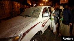 지난 3일 예멘 수도 사나의 알리 압둘라 살레 전 대통령 자택 근처에서 폭탄 공격이 발생했다. (자료사진)