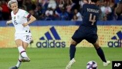 APTOPIX France US WWCup Soccer