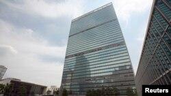 미국 뉴욕의 유엔 본부 건물.