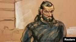 Al regresar a Estados Unidos, el sospechoso de 37 años e identificado como Mohamed Rafik Naji, continuó elogiando la yihad y quería se realizara un ataque en Times Square.