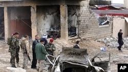 이라크 바그다드 북부 도시 모술에서 16일 발생한 차량 폭탄 테러