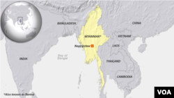 Myanmar, also known as Burma