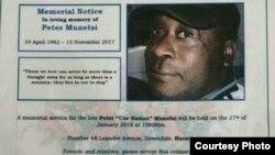 UPeter Munetsi yisiphathamandla sogatsha lweCIO esifele ezandleni zamasotsha ekugenqulweni kukaMugabe embusweni.