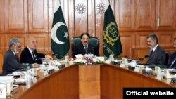 چیف جسٹس افتخار محمد چوہدری اجلاس کی صدارت کررہے ہیں۔