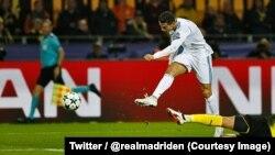 Cristiano Ronaldo (Twitter/ @realmadriden)