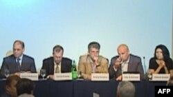 Учасники конференції «Майбутнє України: виклики та ефективність урядування».