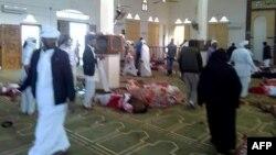 Sinay yarimorolidagi masjidda xuruj
