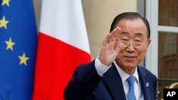 Ban Ki-moon, le secrétaire-général des Nations unies