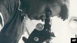 British scientist Rosalind Franklin