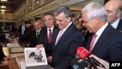 Cumhurbaşkanı Abdullah Gül, İslam Tarih, Sanat ve Kültür Araştırma Merkezi'nde