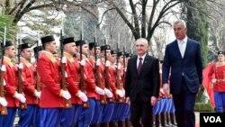 Predsednik Albanije Iljir Meta u poseti Crnoj Gori 21. januara 2019.