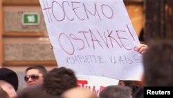 Demonstranti u Sarajevu traže ostavku vlade