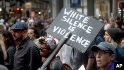 Protest u San Francisku 2018. zbog ubistva Afroamerikanca u sukobu sa policijom