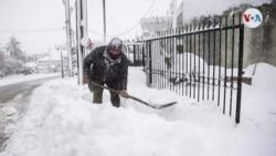 En Fotos: Fuertes nevadas en el mundo durante fin de semana de San Valentín