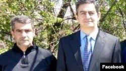 AXCP sədri Əli Kərimli və Şəki rayon şöbəsinin sədri Mubariz Abdulkərimov