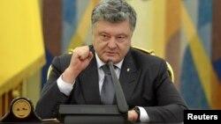 Президент Украины Петр Порошенко (архивный снимок)