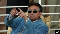 پاکستان کے سابق صدر پرویز مشرف، فائل فوٹو