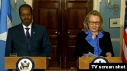 Madaxweyne Xasan iyo Xoghaye Hillary