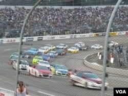 At NASCAR