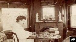 Mark Twain u Elmiri, savezna državna New York, 1874. godine, gdje je znao provoditi ljeta sa svojom obitelji i pisati