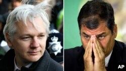 Julian Assange solicitó asilo político a Ecuador, cuyo presidente, Rafael Correa, lleva más de un mes valorando la petición.