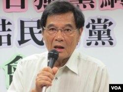 台灣獨立建國聯盟主席陳南天(美國之音張永泰拍攝)