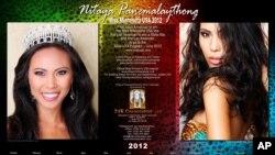 ປະຕິທິນ ນາງງາມລັດມິນນີໂຊຕາ 2012, ນິດຕະຍາ ປານມາໄລທອງ (Miss Minnesota USA 2012) (Please see below for ordering info.)