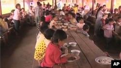在難民營內居住的緬甸少數民族