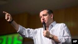 """Ted Cruz recordó que """"por mucho tiempo, la regla general era que los hijos de los candidatos estaban fuera del juego. Así debería ser. No se metan con nuestros hijos"""", afirmó."""
