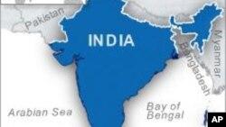 Nexşeya Hindistanê.