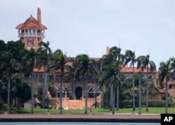 Tư dinh Mar-a-Lago của cựu Tổng thống Trump ở Palm Beach, Florida.