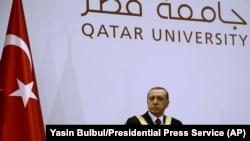 Recep Tayyip Erdogan, Doha, 2 décembre 2015