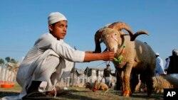په هند کې د کریلا په ایالت کې مسلمانانو خپل مذهبی مراسم پر ځای کړل.