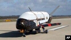 """被稱為""""小型穿梭機""""的X-37B號太空飛機已經完成任務"""
