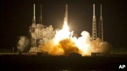 Старт ракеты Falcon 9 SpaceX