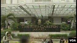 El hotel Ritz Carlton fue uno de los hoteles atacados en la capital de indonesia, el 17 de julio.