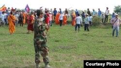 Hàng trăm người Việt và Campuchia đã 'va chạm' trên biên giới hai nước hôm 28/6/2015.