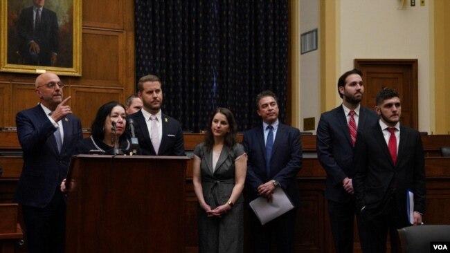 گزارش تصویری: جلسه کمیته فرعی امور خارجی مجلس نمایندگان درباره وضعیت گروگانهای آمریکایی در ایران