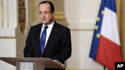 Presidente francês, François Hollande