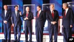 Kao i ove godine, i 2008. se za predsjedničku nominaciju Republikanske stranke natjecalo više kandidata