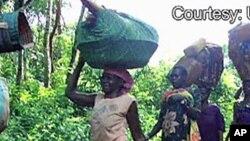 Refugiados na República Democrática do Congo (Arquivo)