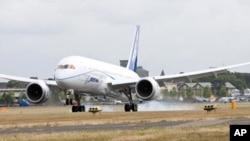 """波音787""""夢想""""廣體客機(資料圖片)"""