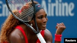 Serena Williams wins U.S. Open championship.