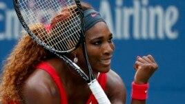 Serena Williams wins U.S. Open championship.
